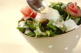 カルボナーラ風サラダ丼の作り方3