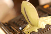 豆乳抹茶ワッフルの作り方8