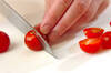 タコとプチトマトの和え物の作り方の手順2