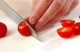 タコとプチトマトの和え物の作り方2