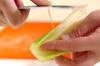 タコとプチトマトの和え物の作り方の手順3