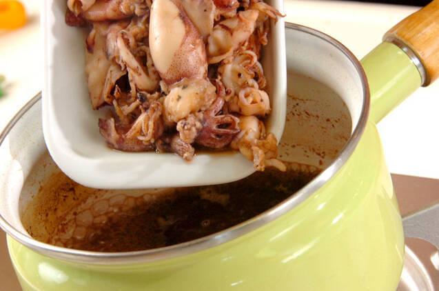 ごはんがすすむ!小イカの甘辛サッと煮の作り方の手順4