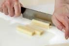 豚ロール揚げ餅の作り方1