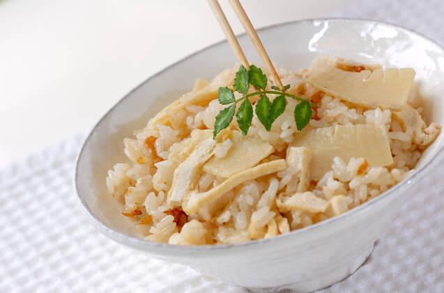 基本のタケノコご飯(炊き込みご飯)の作り方の手順5