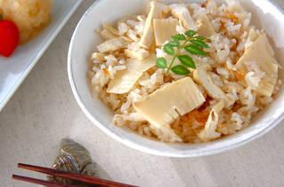 春の味覚!基本のタケノコご飯