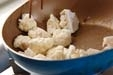 カリフラワーの炒め物の作り方1