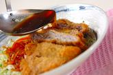 薄切り豚肉のスープカツの作り方3