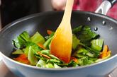 チンゲンサイの塩炒めの作り方2