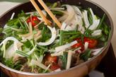 牛肉入りピリ辛サラダの作り方2