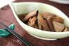 ズイキと油揚げの煮物