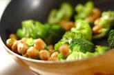 ブロッコリーのカレー炒めの作り方3