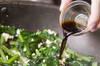 小松菜炒り豆腐炒めの作り方の手順3