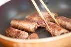 蒟蒻の牛肉巻きの作り方2