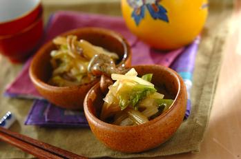 白菜の中華風漬け物