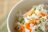 塩鮭ご飯の作り方の手順