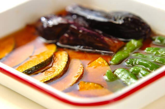 定番おばんざい ナスとカボチャの揚げ浸しの作り方の手順9