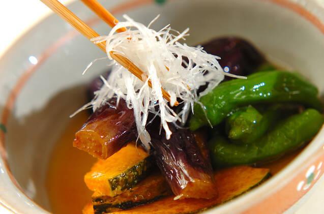 定番おばんざい ナスとカボチャの揚げ浸しの作り方の手順10