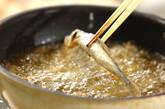 揚げシシャモのおろし添えの作り方4