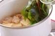 高野豆腐と貝の煮物の作り方4