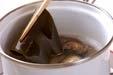 高野豆腐と貝の煮物の作り方1