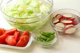 鶏の唐揚げ&野菜揚げの下準備2