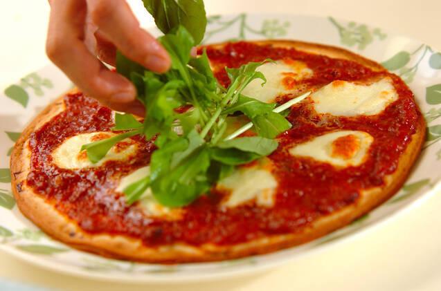 ボロネーゼピザの作り方の手順4