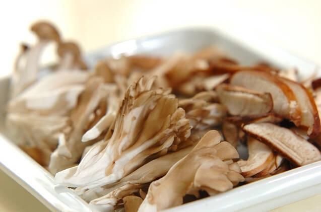 キノコの佃煮の作り方の手順1