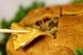 包み焼きビーフンの作り方12