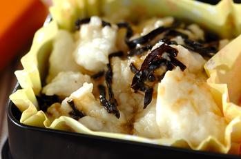 長芋と塩昆布の和え物