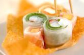 パリパリ器のサラダの作り方4