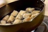揚げ高野豆腐のそぼろ煮の作り方2