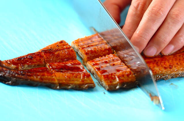 ウナギ入りちらし寿司の作り方の手順3
