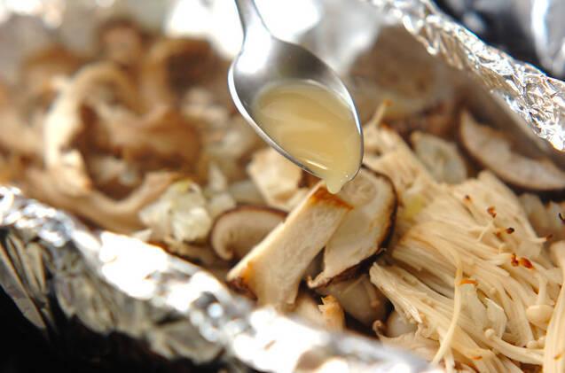 キノコの旨味たっぷり!ヘルシー簡単ホイル蒸しの作り方の手順9