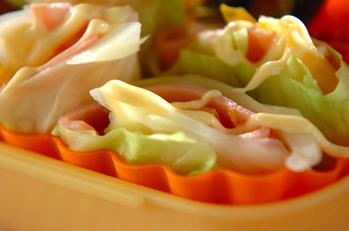 ロールキャベツサラダ