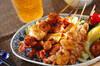 焼き鶏の作り方の手順