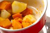 カボチャのサラダの作り方9
