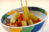 フキと練り物の煮物の作り方3