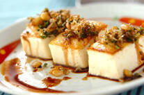 カリカリ豆腐ステーキ