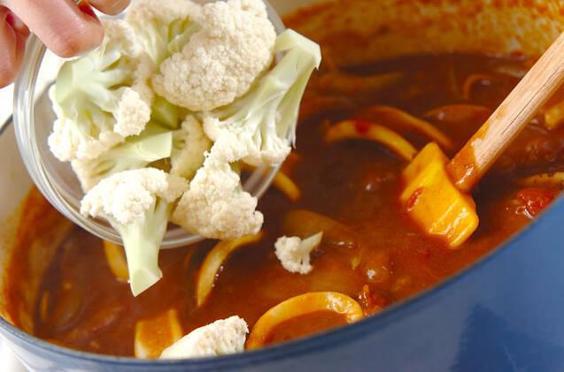 イカのトマトカレーの作り方の手順7