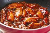 鶏リブの甘煮の作り方4