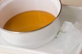 冷やしとろろ汁の下準備1