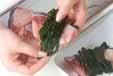 ブリのワカメ蒸しの作り方1