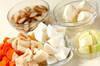 根菜カレーの作り方の手順1