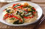エスニック風素麺チャンプルー
