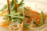 ゆでモヤシの甘酢和えの作り方6