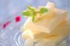洋梨のパルフェの作り方の手順