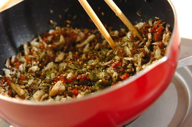 干物でふりかけの作り方の手順4
