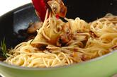 ツナとマッシュルームのパスタの作り方4