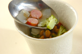 水煮豆のスープの作り方2