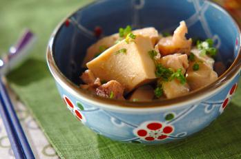 高野豆腐のみそ煮